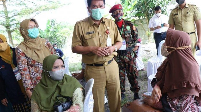 Maesyal Rasyid Sebut Target Peserta Vaksinasi di Kabupaten Tangerang Lampaui Target
