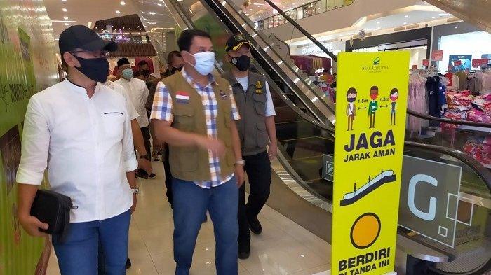 Hari Pertama Idul Fitri Sekda Tangerang Monitor Mal dan Tempat Wisata