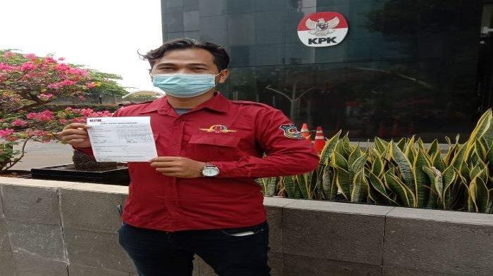 Sekjen DPP Joker Datangi KPK Serahkan Laporan Tentang Kinerja Kuangan Perusahan Daerah