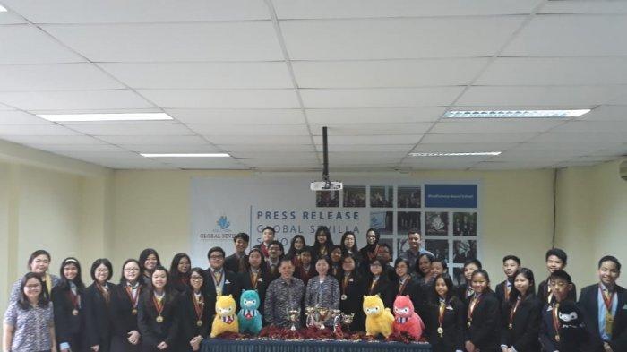 Sekolah Global Sevilla Raih Ratusan Medali di Amerika Serikat