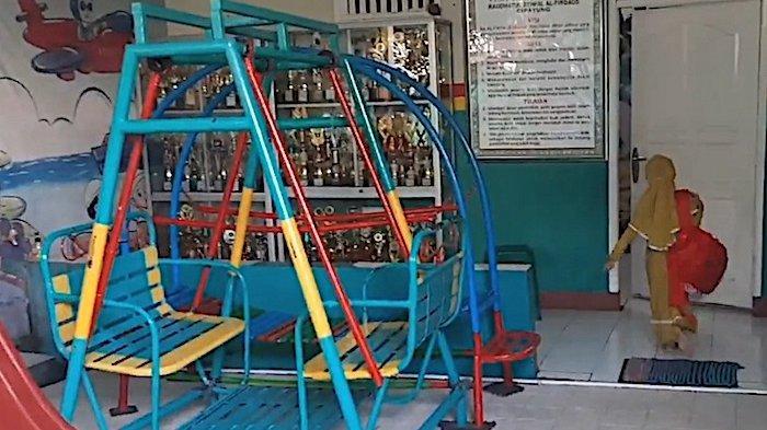 TK di Cipayung Nekat Adakan PembelajaranTatap Muka Kena Tegur Satpol PP, Kepala Sekolah Pasrah