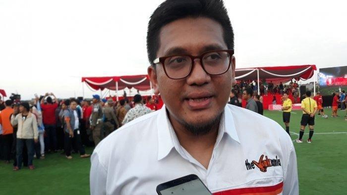 Ketua Umum The Jakmania, Diky Soemarno.