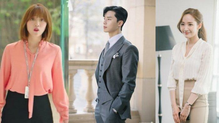 Gaya Chic dalam Drama Serial What's Wrong With Secretary Kim