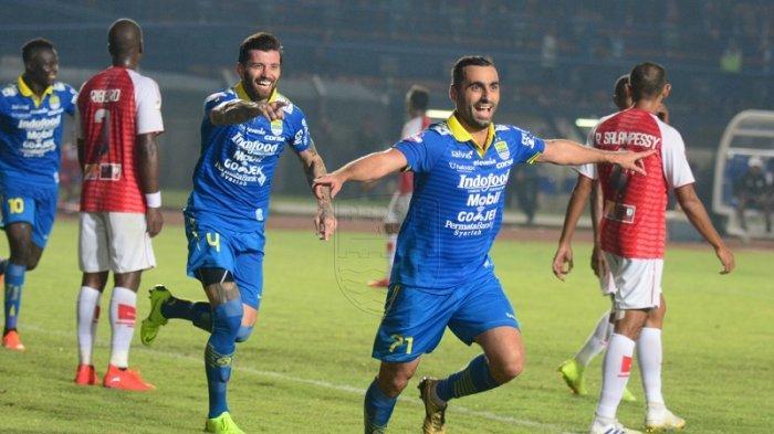 Persib Bandung Menang Telak 3-0 Atas Persipura Jayapura di Liga 2019, Ini Cuplikan Golnya