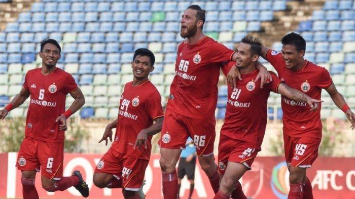 Persija Jakarta Bergabung dengan Persebaya Surabaya, Bhayangkara FC dan Persela Sebagai Juara Grup