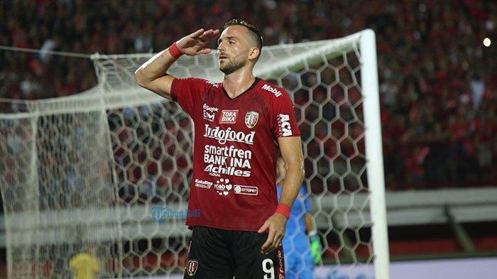 Ilija Spasojevic Striker Bali United Puji Diego Assis Sebagai Pemain Berkualitas Di Lapangan Hijau