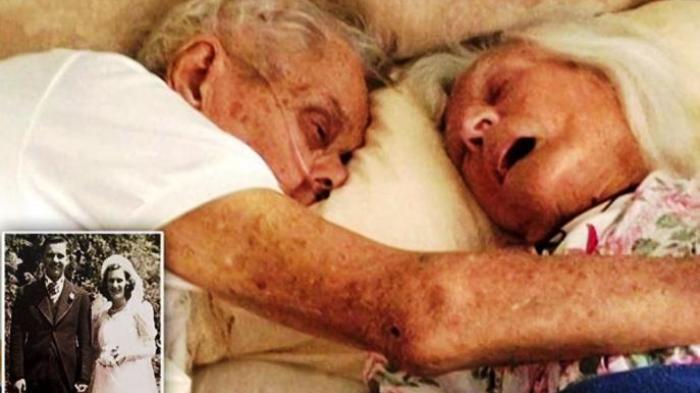 Dahsyat, 75 Tahun Menikah, Pasangan Ini Benar-benar Sehidup Semati