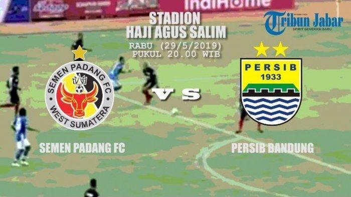 Live Streaming Semen Padang vs Persib Bandung, Lapar Poin Kabau Sirah Bakal Sulit Dijinakkan