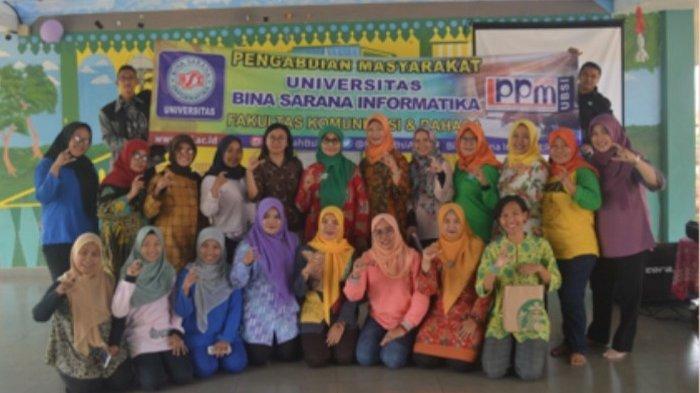 Forum RPTRA Jakarta Timur dan Universitas BSI Belajar Komunikasi yang Baik di Masyarakat