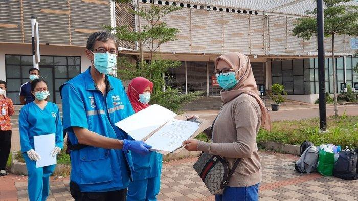 Pesan Anggota TNI yang Sembuh dari Virus Corona di Tangsel, Olahraga dan Jaga Kesehatan