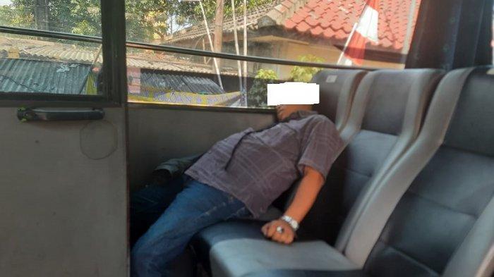 Setelah Beli Minuman Seorang Penumpang Bus Asal Sumedang Ditemukan Tewas di Dalam Bus