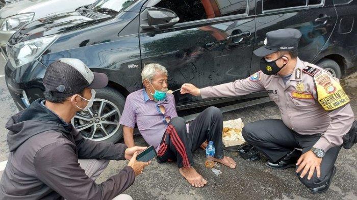 SEDIH, Tahan Lapar karena Tak Punya Uang, Seorang Tunawisma di Tambora Jatuh Pingsan