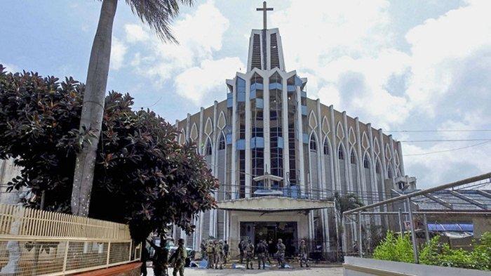 Tes DNA Pastikan Dua Terduga Pelaku Bom Bunuh Diri di Gereja Filipina Pasutri WNI, Ini Identitasnya