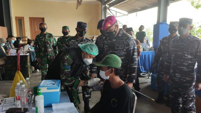 Jemput Bola Vaksinasi di Kalangan Nelayan, TNI AL Gelar Serbuan Vaksin Covid-19 di Muara Angke
