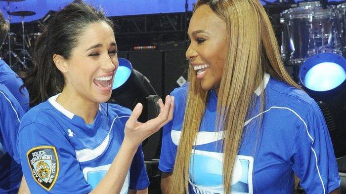 Petenis Serena Williams Kirim Kado Popok ke Calon Ibu Meghan Markle
