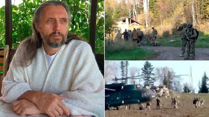 PEMIMPIN Sekte Rusia Sergei Torop Klaim Reinkarnasi Yesus Kristus, Ritual Dilakukan di Gubuk Kayu
