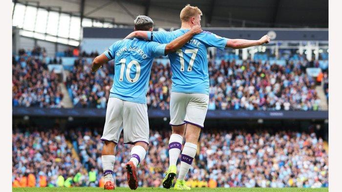 Starting XI dan Link Live Streaming Manchester City vs West Ham United, Sergio Aguero Jadi Starter