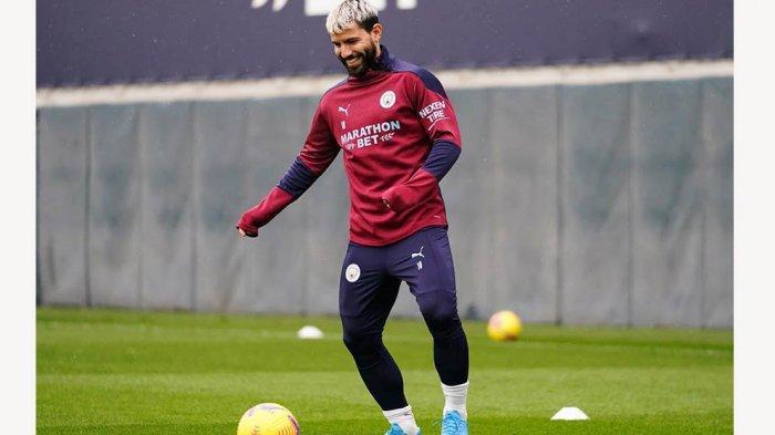 Sergio Aguero Menanggapi Isu Soal Dirinya Yang Katanya Akan Tinggalkan Mancity ke Barcelona