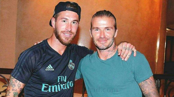 David Beckham Ingin Kapten Tim Real Madrid Sergio Ramos Main Di Inter Miami Klub Miliknya