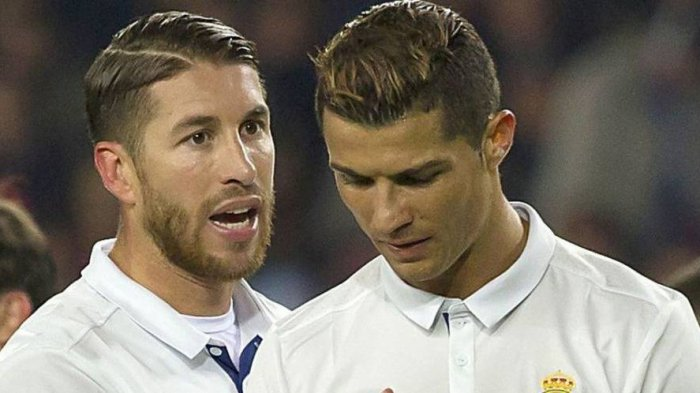 Sergio Ramos Mengaku Muak Bicara Soal Cristiano Ronaldo