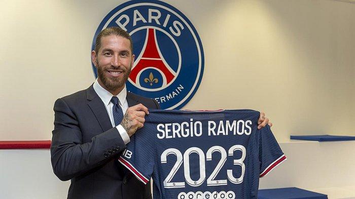Sergio Ramos Resmi Gabung Paris Saint Germain, Real Madrid Perpanjang Kontrak Nacho Fernandez