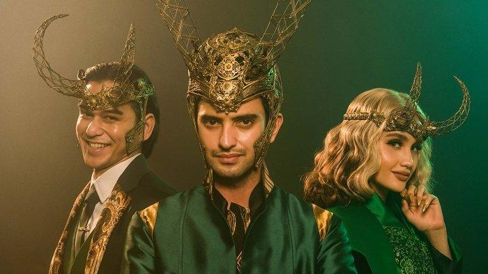 Omar Daniel, Cinta Laura dan Rangga Azof Berkostum Khas Karakter Loki dengan Sentuhan Nusantara