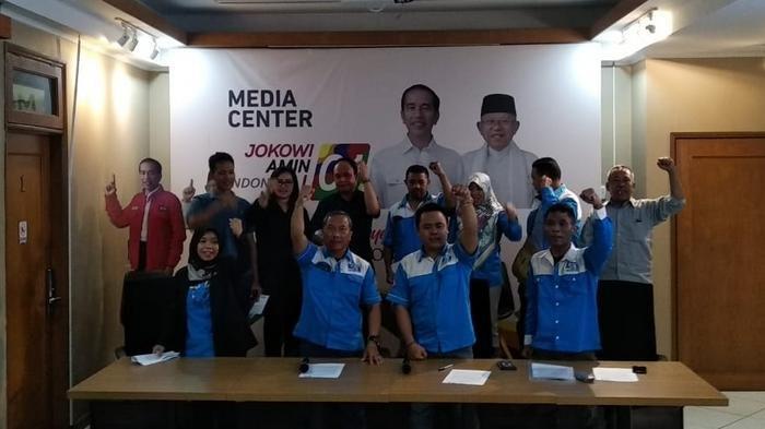Serikat Pekerja Nasional Membelot Dukung Jokowi-Maruf Amin Jelang Pemilu, Ini Alasannya