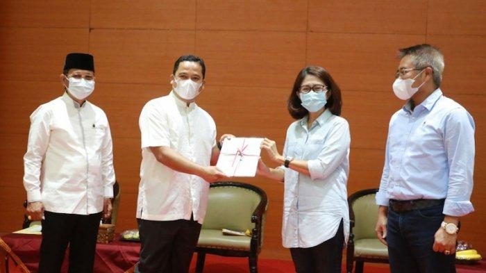 HUT Kota Tangerang, Pemkot Terima 190 Sertifikat Hak Pakai Tanah dari BPN Banten