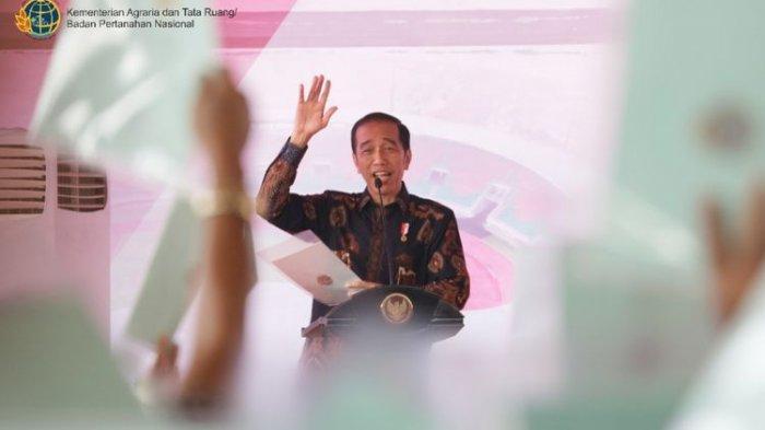 Serahkan 1000 Sertifikat Hak Atas Tanah, Tersisa 80 Juta Warga yang Belum Dapat, Begini Kata Jokowi