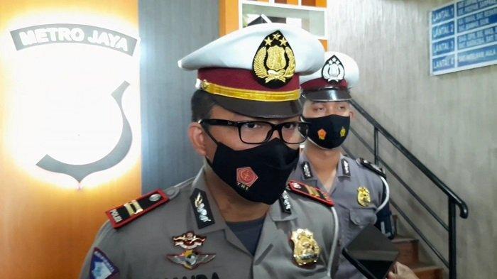 Kanit Laka Lantas Polres Tangsel, Iptu Nanda Setya Pratama saat ditemui di Mapolres Tangsel, Serpong, Tangerang Selatan.