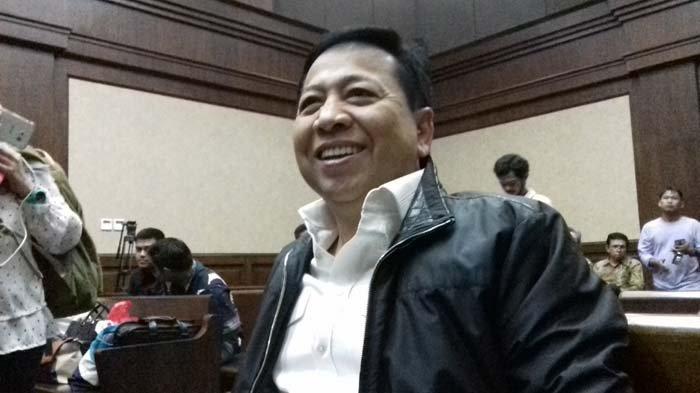 Setya Novanto Mengaku Tangan Kirinya Tidak Bisa Digerakkan, Ternyata Tepergok Pelesiran