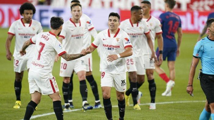 Sevilla Tumbangkan Atletico Madrid 1-0, Barcelona dan Real Madrid Jadi Berpeluang Juara La Liga