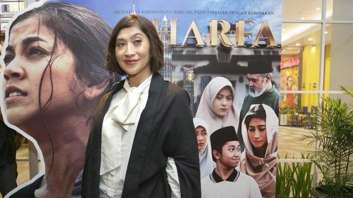 Shelomita Senang Dilibatkan Sineas Indonesia dan Malaysia Dalam Penggarapan Film Zharfa