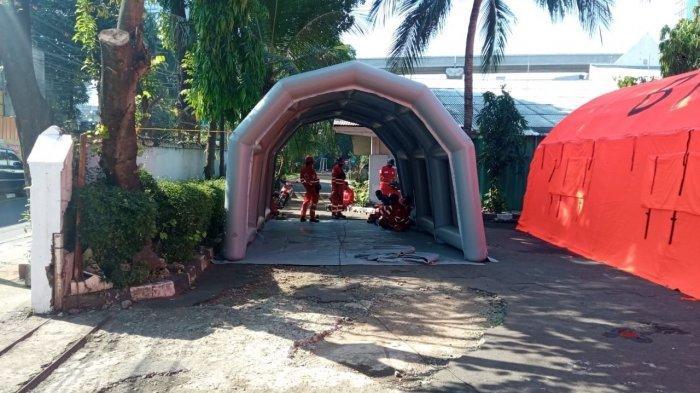 Kurangi Klaster Keluarga dan Beban Rumah Sakit, Universitas Paramadina-PMI Dirikan Shelter Isoman