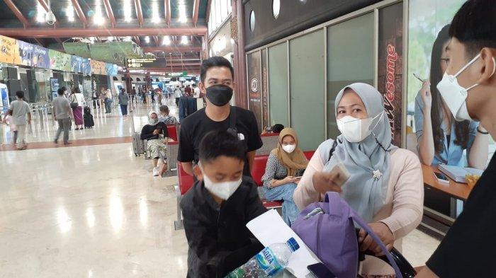 Cerita Sherly Nekad Bawa Empat Anaknya Mudik Melalui  Bandara Soekarno-Hatta