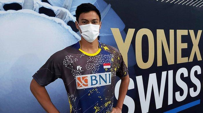 Shesar Hiren Rhustavito menjadi wakl Indonesia di nomor tunggal putra yang lolos perempat final Swiss Open