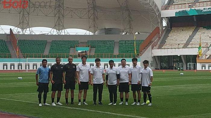 Shin Tae-yong Boyong Semua Tim Pelatih di Latihan Perdana Timnas U-19 Indonesia