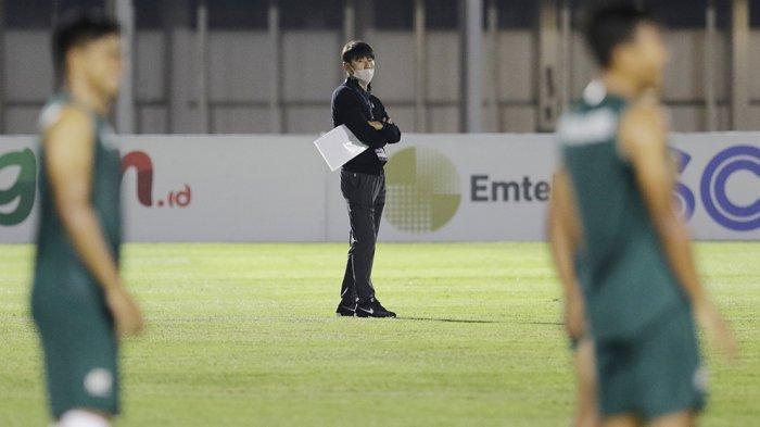 Pelatih timnas U-23, Shin Tae-yong masih belum puas dengan penampilan tim asuhan pada laga ujicoba melawan Persikabo 1973