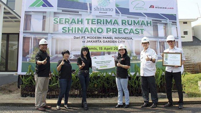 Gunakan Teknologi Precast M Panel, Rumah di Jakarta Garden City Dibangun Dalam 75 Hari Saja