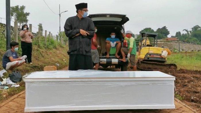 Rekor Tertinggi Pemakaman Jenazah Covid-19 di TPU Jombang Bulan Juni, 28 Per Hari
