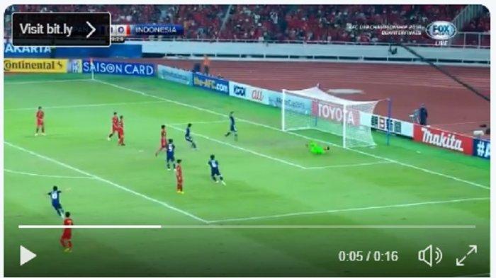 LIVE STREAMING TIMNAS U-19 Indonesia vs Jepang, Indonesia Tertinggal 0-1