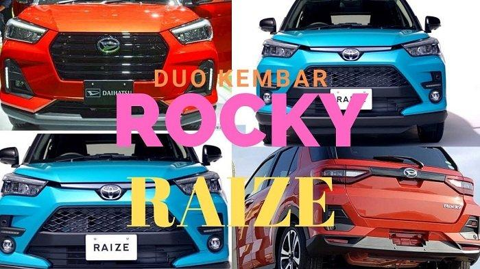 Punya 4 Varian, Daihatsu Rocky Lebih Mahal dari Kembarannya, Toyota Raize, Ini Perbandingan Harganya