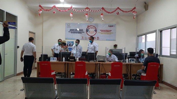 Kanwil Kemenkumham DKI Jakarta Sidak Kantor Imigrasi Jakarta Barat