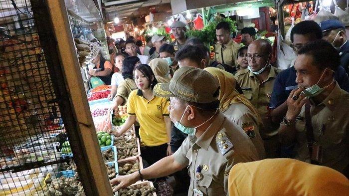 Harga Rempah-Rempah Naik Gara-Gara Virus Corona, Pemkot Jakpus Sidak ke Pasar Senen Blok III