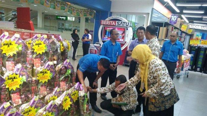Dua Supermarket di Depok Disidak Dinas Perdagangan dan Perindustrian