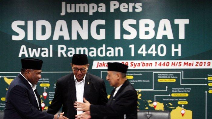 Sore Ini Pemerintah Sidang Isbat 1 Syawal 1440 H, PP Muhamaddiyah Tetapkan LEbaran 5 Juni 2019