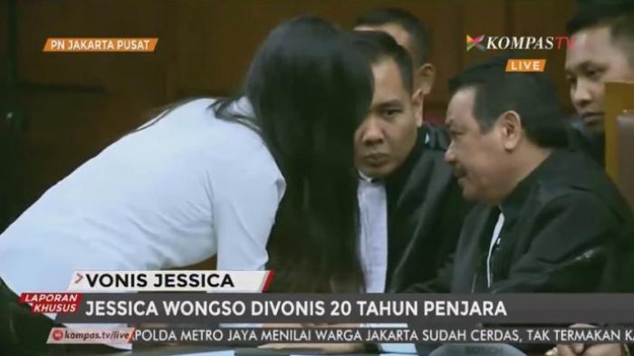 Jessica Merasa Vonis yang Diterimanya Tidak Adil