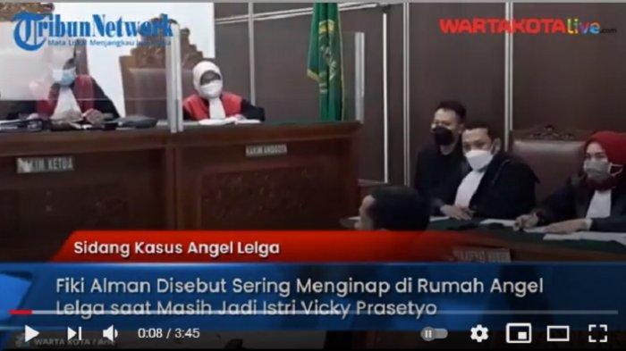 VIDEO Fiki Alman Disebut Sering Menginap di Rumah Angel Lelga saat Masih Jadi Istri Vicky Prasetyo