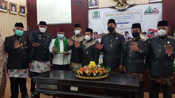 Sidang Paripurna Istimewa HUT Kota Bekasi, Rahmat Effendi Banggakan Pembangunan Era Kepemimpinannya