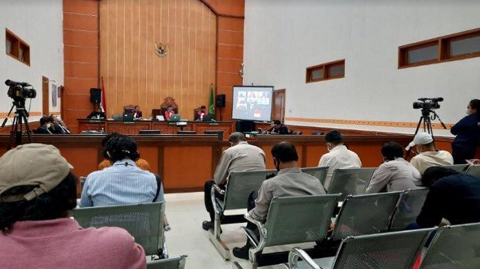 Sidang Vonis Penusuk Wiranto di PN Jakarta Barat Dijaga Ketat Aparat Kepolisian